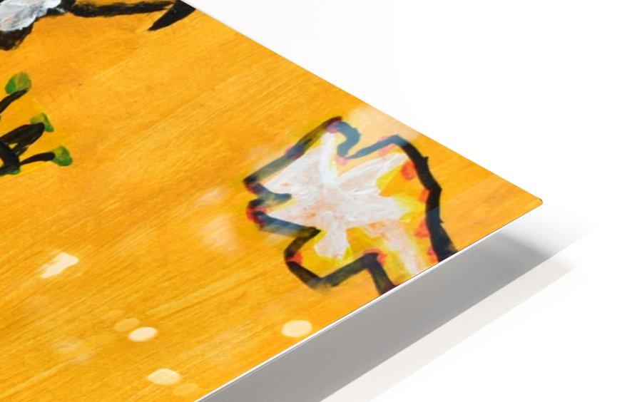 Klimt inspiration. Clyde O. HD Sublimation Metal print