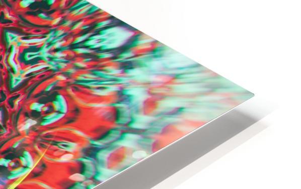 Abstract Mandala I HD Sublimation Metal print