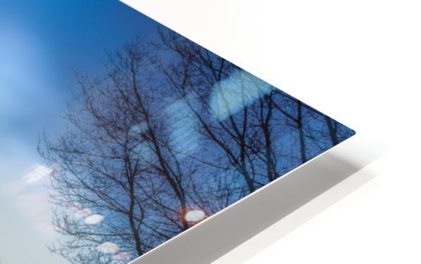 Blue Amsterdam HD Sublimation Metal print