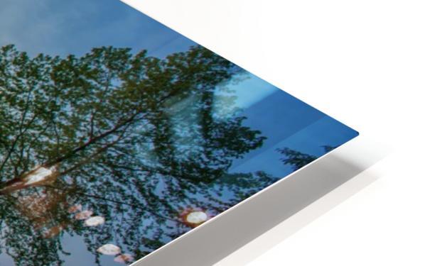 Mount Fuji reflected in Lake , Japan HD Sublimation Metal print