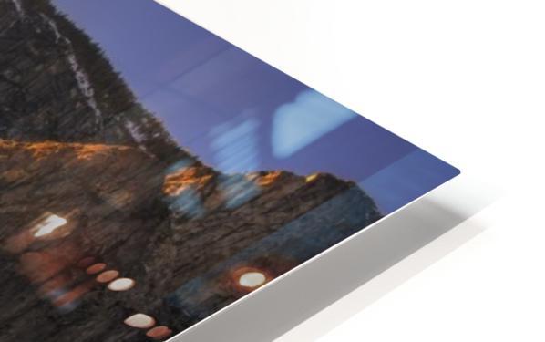 Yosemite Firefall HD Sublimation Metal print
