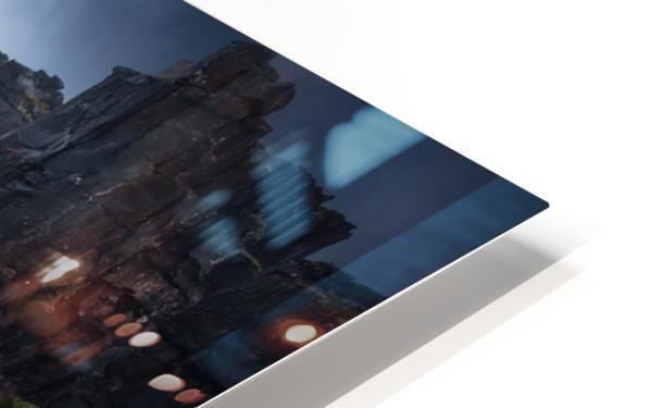 Una cascada. HD Sublimation Metal print