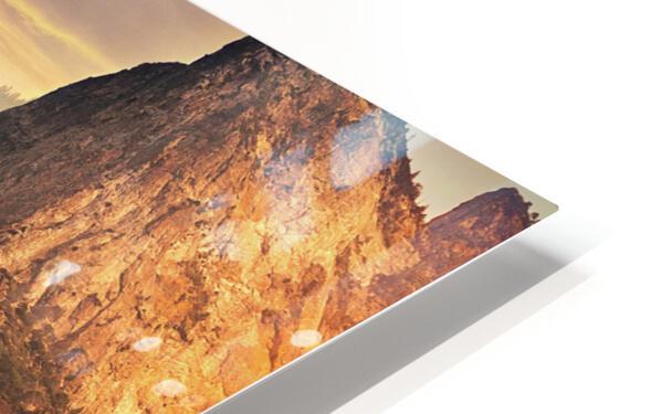 Bridalveil fall, Yosemite HD Sublimation Metal print