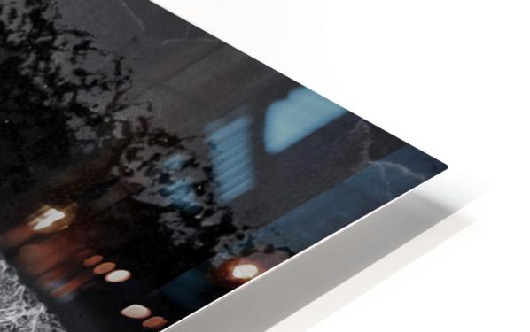 black beach HD Sublimation Metal print