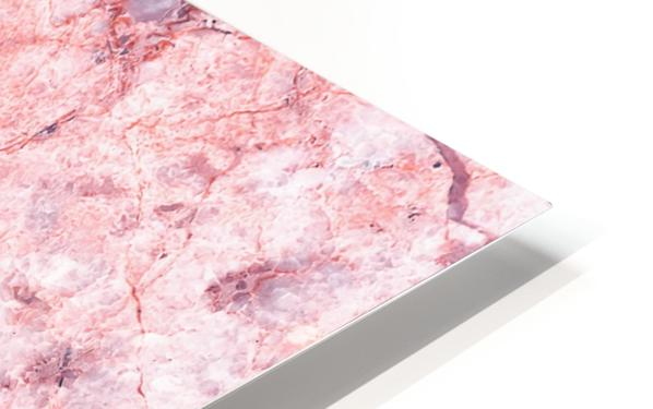 Pink Marble HD Sublimation Metal print