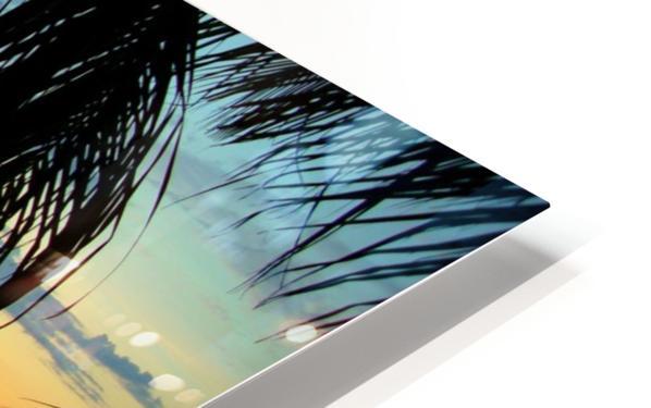 Sunset11 HD Sublimation Metal print