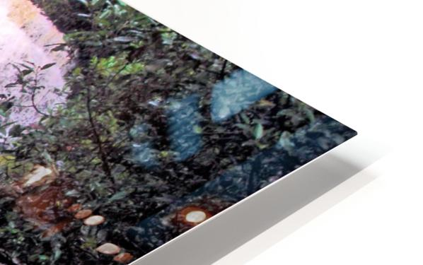 Waterfall8 HD Sublimation Metal print