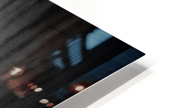 Black Rain HD Sublimation Metal print
