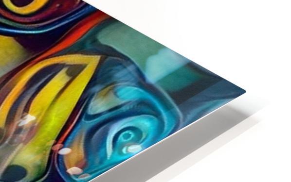 Seashell Colorful Pattern HD Sublimation Metal print