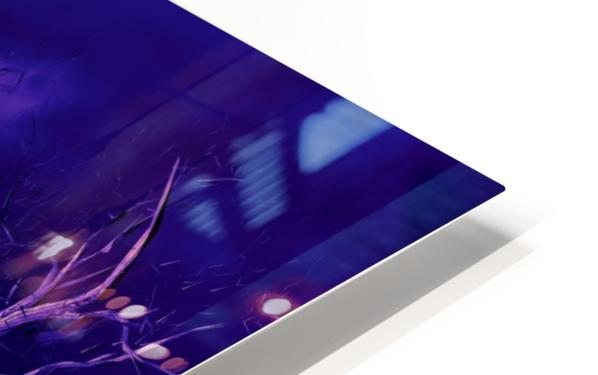 PURPLE FOREST HD Sublimation Metal print