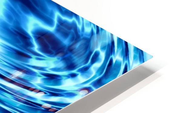 WATER CIRCLES HD Sublimation Metal print