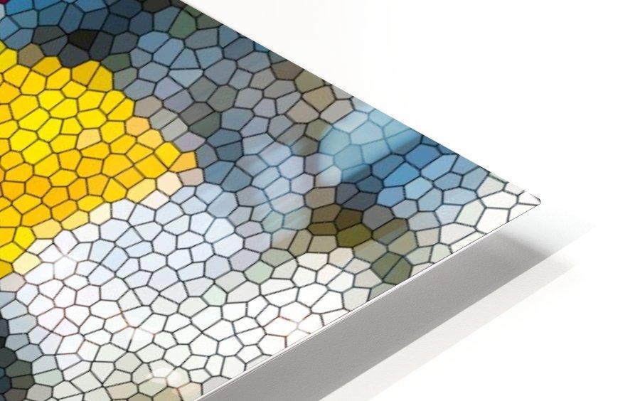 Tulip Mosaic HD Sublimation Metal print