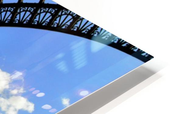 Life under the Eiffel Tower HD Sublimation Metal print