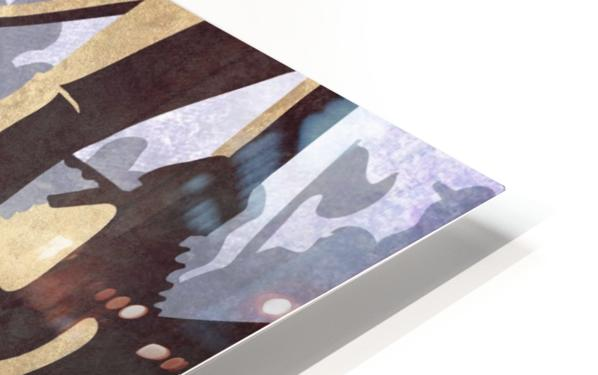 Paris Roubaix retro cycling poster HD Sublimation Metal print