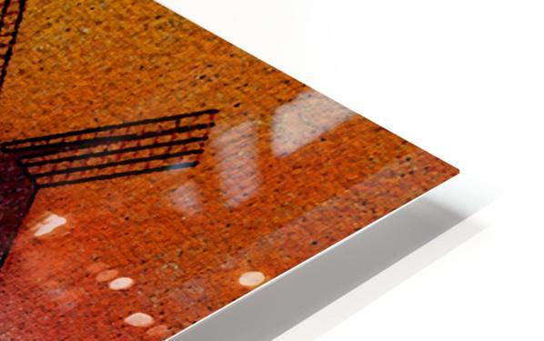 SUNDOWN ON WINDMILLS HD Sublimation Metal print