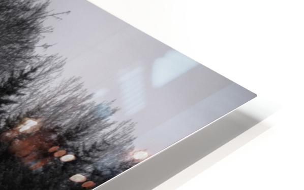 Winter fog HD Sublimation Metal print