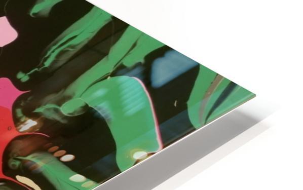 Tropical Branch Jade HD Sublimation Metal print