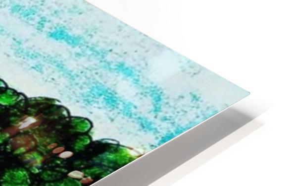 Picnic HD Sublimation Metal print