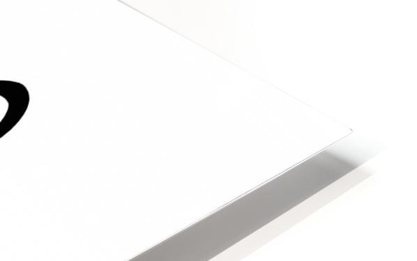 Cozmo Black HD Sublimation Metal print
