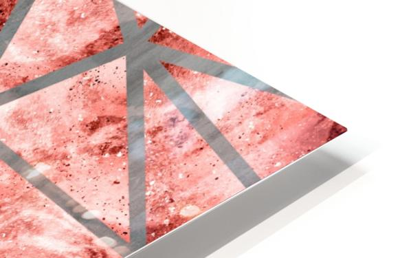 Geometric XXXV HD Sublimation Metal print