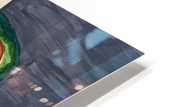 Ripe Avocados HD Sublimation Metal print