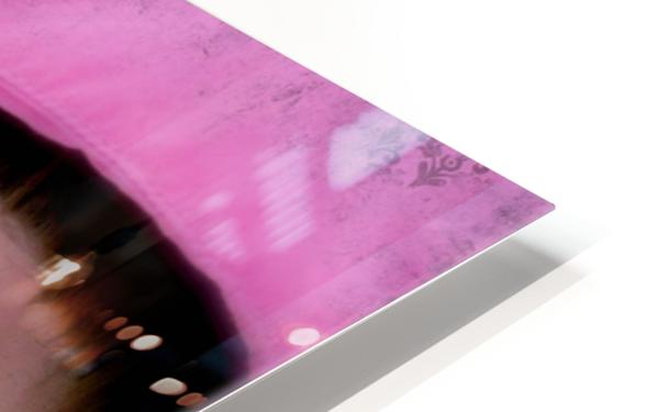 Winter pink HD Sublimation Metal print