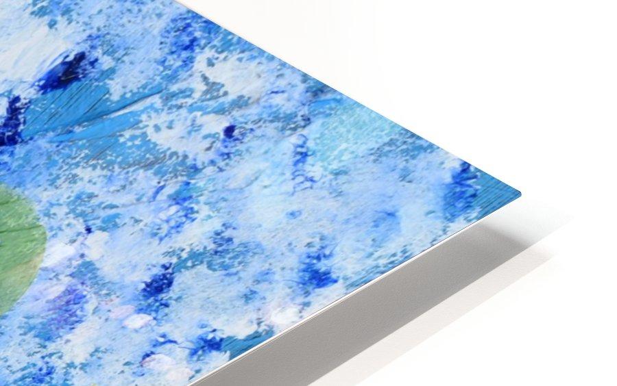 Bluebonnet cactus. Molly H HD Sublimation Metal print