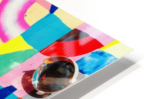One way HD Sublimation Metal print