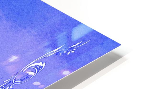 Psalm 118 17 4BL HD Sublimation Metal print