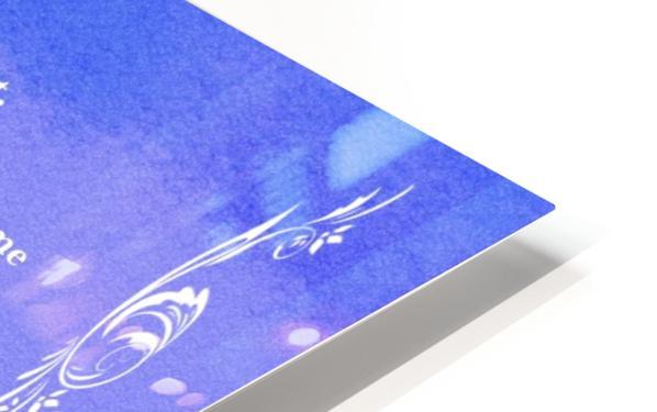 Psalm 23 4BL HD Sublimation Metal print