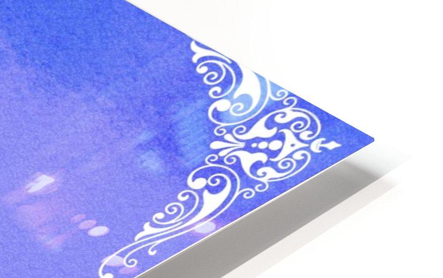 Psalm 46 10 5BL HD Sublimation Metal print