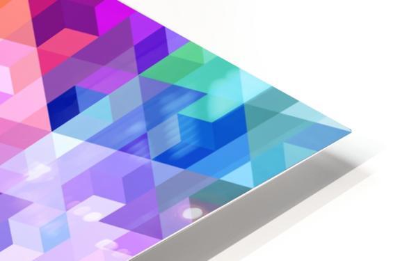 VIVID PATTERN VIII HD Sublimation Metal print