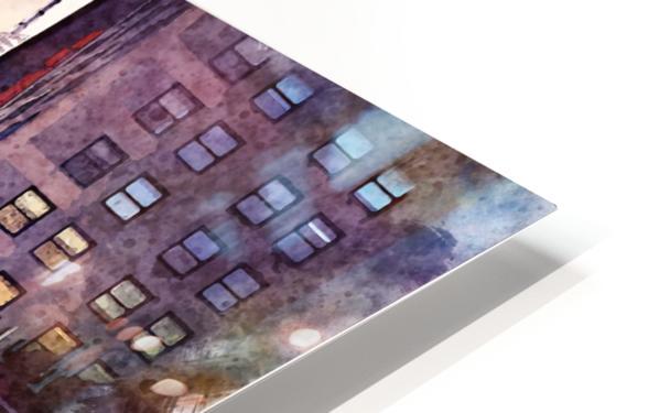 new york HD Sublimation Metal print