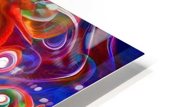 Vortex of Colors HD Sublimation Metal print