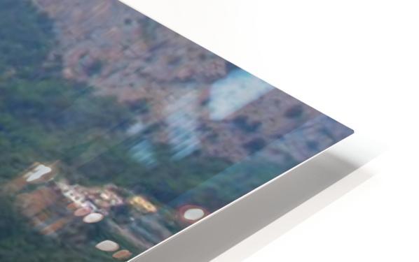 Amalfi Coast Super Panoramic  HD Sublimation Metal print