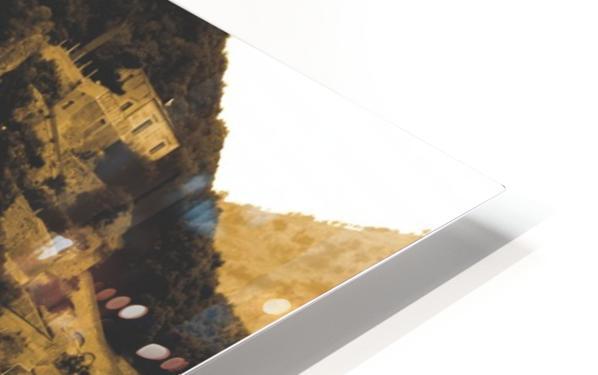 Landscape - Amalfi Village - Italy HD Sublimation Metal print