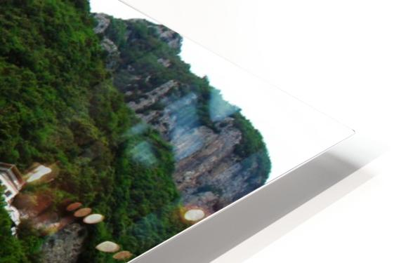 Landscape - Beautiful Village - Italy HD Sublimation Metal print