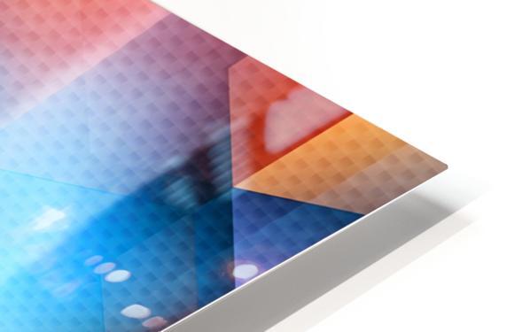 Abstract Design I   Panoramic HD Sublimation Metal print