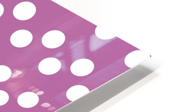 Bodacious Polka Dots HD Sublimation Metal print
