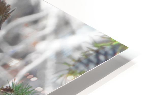 ruffed HD Sublimation Metal print
