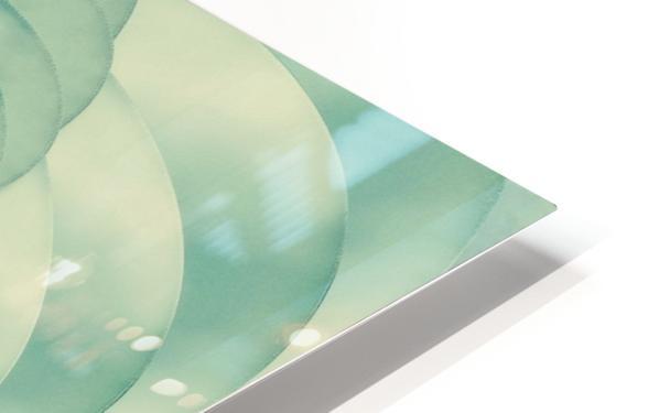 Composition in Celadon HD Sublimation Metal print