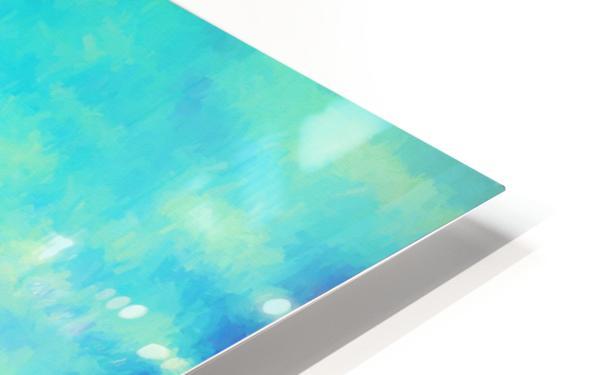 Red Horizon HD Sublimation Metal print