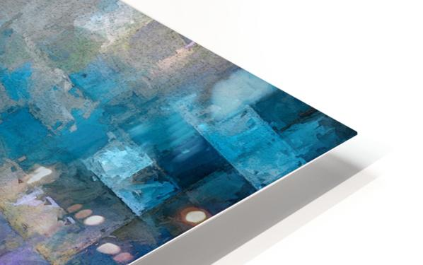 A Vision in Blue HD Sublimation Metal print