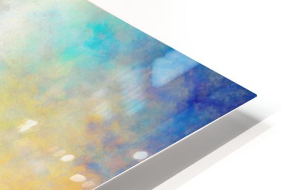 Blue Zone HD Sublimation Metal print