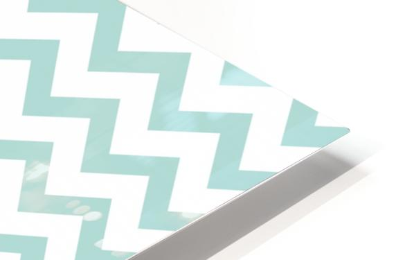 ARCTIC CHEVRON HD Sublimation Metal print