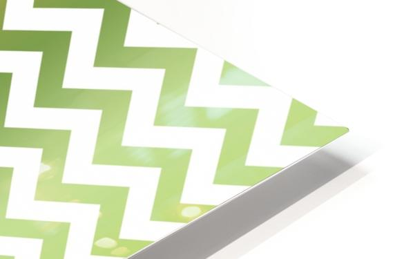 PEAR CHEVRON HD Sublimation Metal print