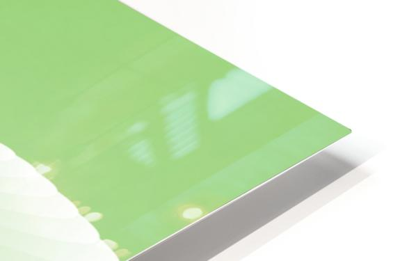 GREEN ABSTRACT  ORIGINAL HD Sublimation Metal print
