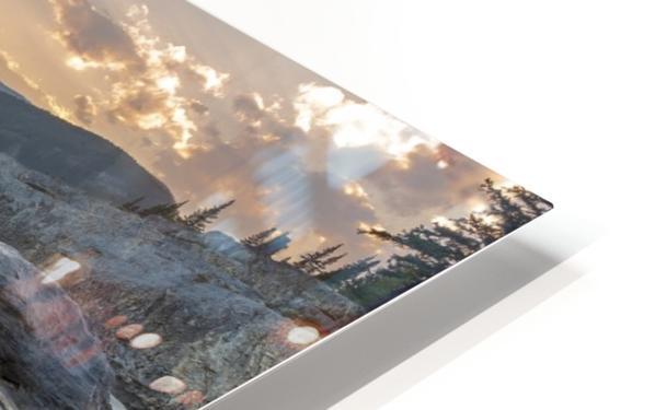 Elbow falls HD Sublimation Metal print