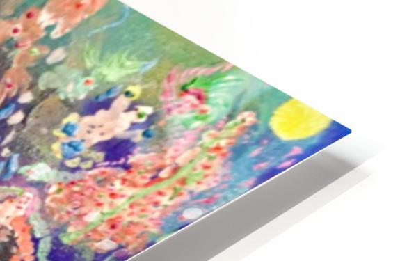 CORAL FANTASY HD Sublimation Metal print