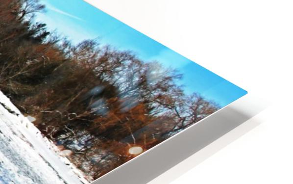 Frazil Ice On The Grand River West Montrose HD Sublimation Metal print